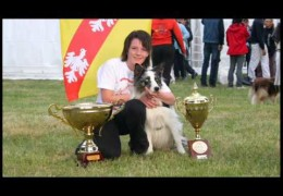 Emotional Runs By The 2009 Champions of France Amandine and Blue Eyes