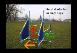 How To Start Your Agility Dog on the Double Bar Jump