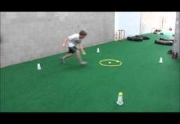 Youth Dog Agility Handler Exercise