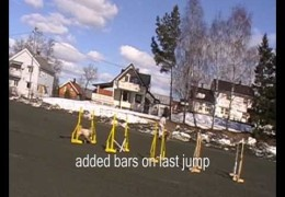 Dog Agility Jumping Grids and Speed Circle