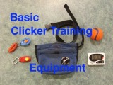 Basic Clicker Training Equipment for Dog Agility