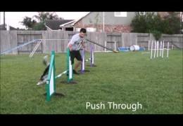 Esteban Demonstrates the Threadle-Rear Cross vs Push Through