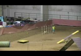 Youth Handler Courtney's Brilliant AKC Dog Agility Run