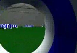 Computerized Dog's Eye View of Dog Agility Tunnelers